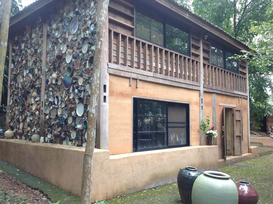 Broken Ceramic House